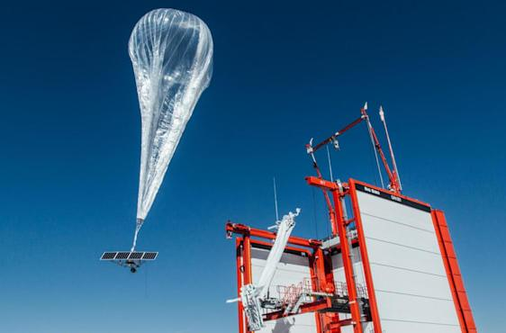 Alphabet's Loon and AT&T will tackle global crises with internet balloons
