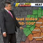 Heat wave continues as heat index jumps into mid-100s