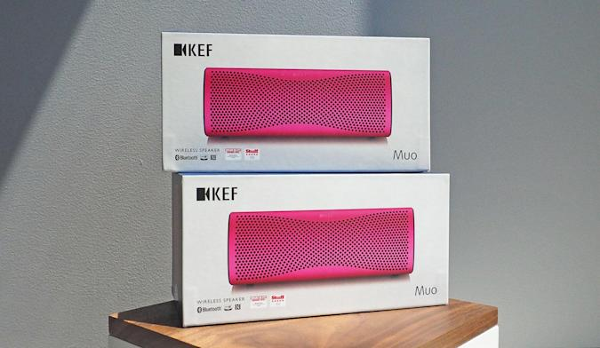 Engadget giveaway: Win a pair of Muo speakers courtesy of KEF!