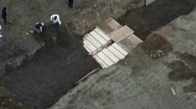 Dead are buried on NYC's Hart Island amid coronavirus surge