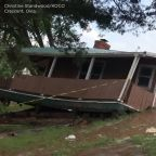 Oklahoma home ripped off foundation, swept away by swollen Cimarron River: VIDEO