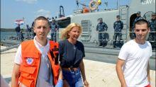Britin nach Sturz von Kreuzfahrtschiff nach zehn Stunden aus der Adria gerettet