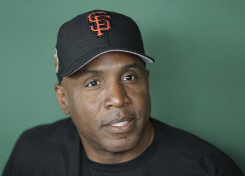 Barry Bonds says he can still put a ball into McCovey Cove. (AP Photo)