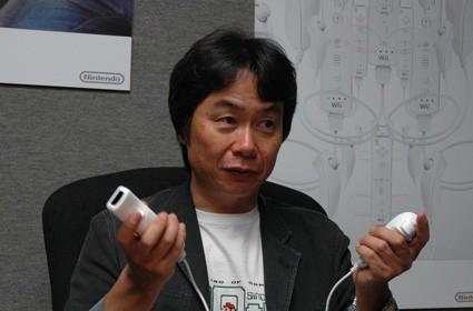 "Miyamoto ""not worried at all"" about Sony and Microsoft's motion controllers"