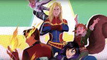 Marvel launching next-gen animation franchise 'Marvel Rising'; feature film in works for 2018