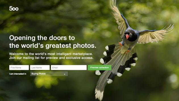 500px will sell your photos if it can keep most of the cash