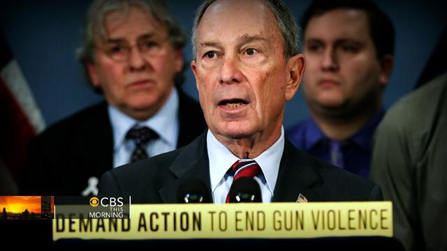 Who sent ricin-laced letters to Bloomberg, gun control group?