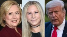 Hillary Clinton Uses Barbra Streisand's Pandemic Question To Taunt Donald Trump