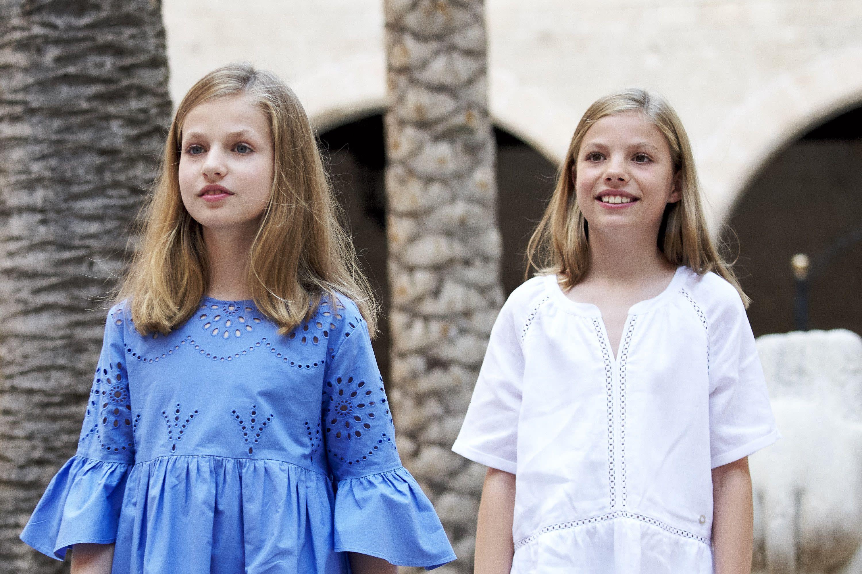 萊昂諾爾公主(Leonor)和索菲亞公主(Sofia)。