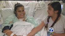 Young mom gets lifesaving gift for Mother's Day
