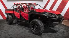 Honda Rugged Open Air Vehicle Concept is a Ridgeline-based Baja runner