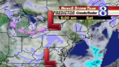 Snowfall 1-3 inches Saturday -- Watch Doug Allen's Forecast