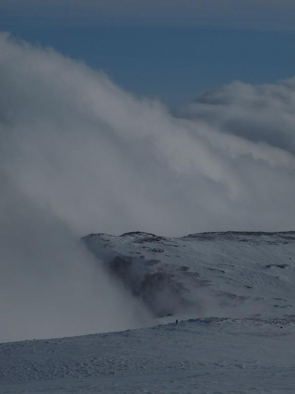Even today, the Cairngorm Mountains are the snowiest spot in Scotland.