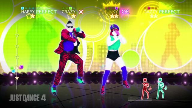 Just Dance 4 - Gangnam Style Gameplay
