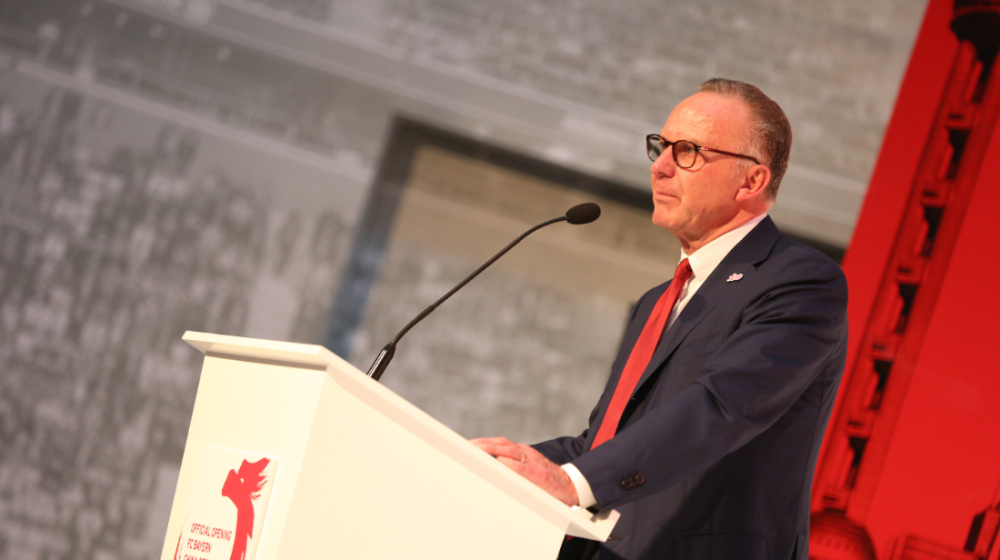 """Karl-Heinz Rummenigge: """"Bayern berühmt und berüchtigt"""""""