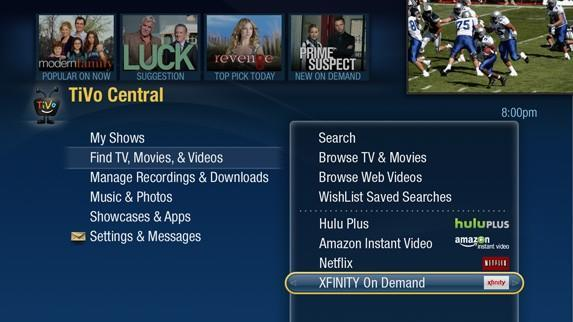 Comcast VOD for TiVo Premieres expands to Boston, old Comcast TiVos shut off in August