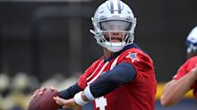 Cowboys QB Dak Prescott says shoulder strain isn't 'any kind of serious setback'