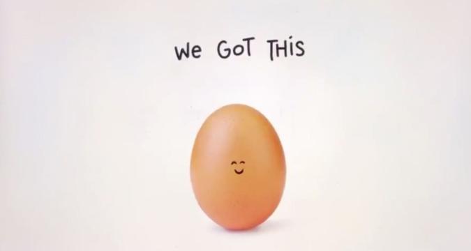 Hulu instagram egg