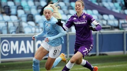 Manchester City winger Chloe Kelly terrorisesFiorentina in convincing Champions League win