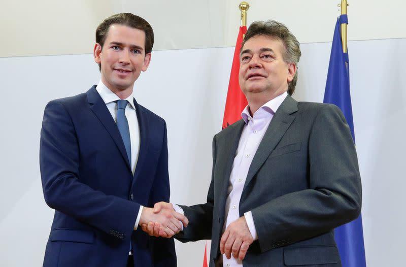 Austrian coalition deal includes headscarf ban, preventive custody