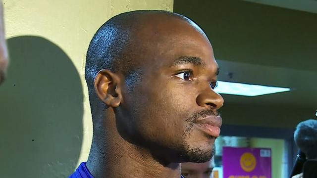 NFL star Adrian Peterson to play after death of 2-year-old son