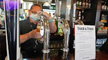 In pictures: UK's 'Super Saturday' as pubs and restaurants reopen