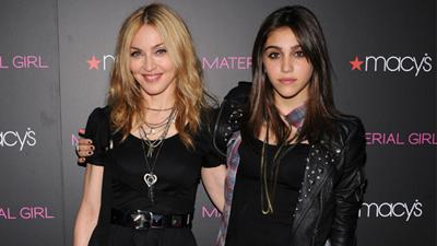 Madonna And Lourdes' Night Out