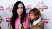 Octomom shares new photo of her kids as they turn 11