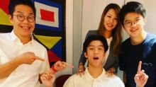 Lily Hong shares happy photo on son's birthday