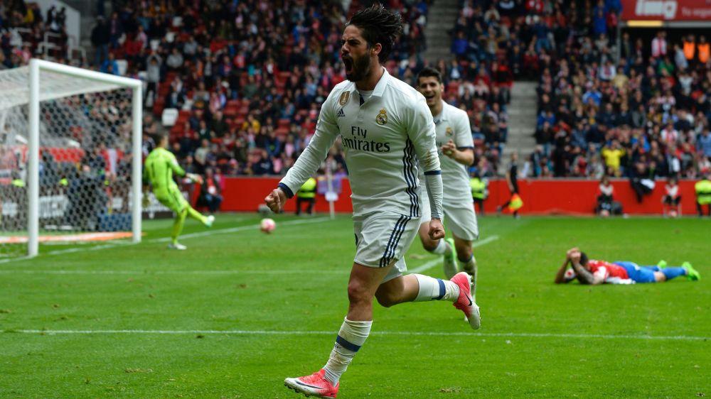 Real Madrid, Varane et Isco titulaires face à l'Atlético Madrid