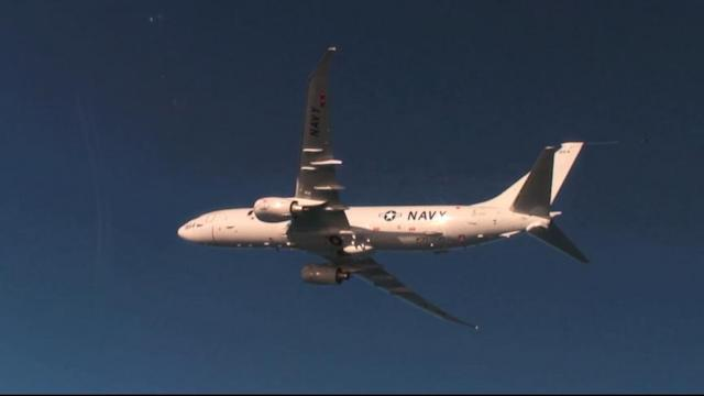 US Navy Plane Joins Search for Flight 370