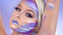"""Makeup Artists Are Recreating Ariana Grande's """"God Is a Woman"""" Body Paint Look"""