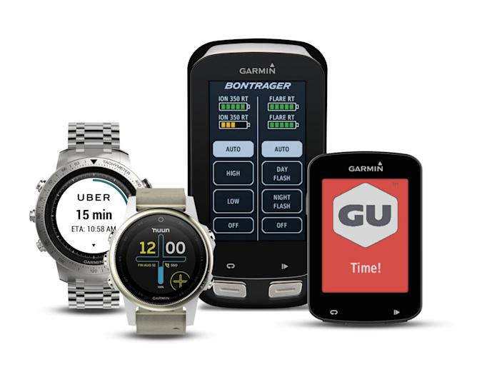 Garmin's watch-app store finally gets Uber and a few other big names