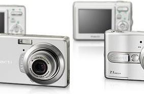 Sanyo's similar VPC-S7 and VPC-E7 compact cameras