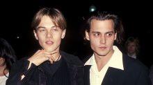 """Johnny Depp diz ter """"torturado"""" Leonardo DiCaprio durante filme nos anos 1990"""