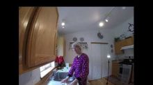 Woman Juggles Soap Bars to Send Message of Washing Hands During Coronavirus Pandemic
