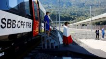 Swiss complete trans-European rail route with Ceneri Tunnel under the Alps