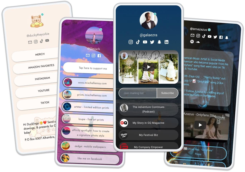 Beacons debuts a 'link in bio' mobile website builder that helps creators make money, not just list links