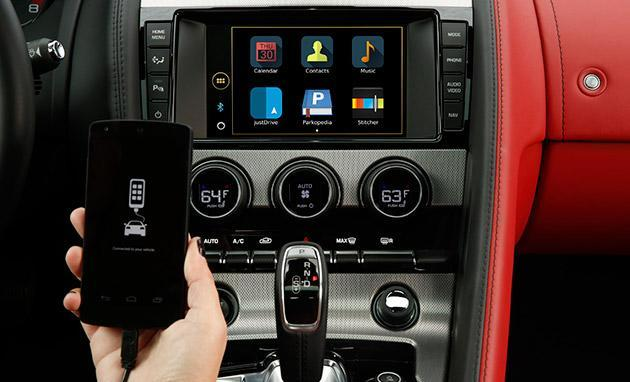 Jaguar Land Rover's infotainment system adds voice control