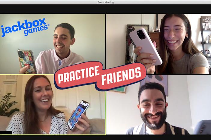 Jackbox is offering 'practice friends' to rebuild your social skills