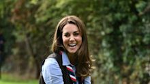 Kate Middleton Has a New Job and It Involves Wearing a Scarf