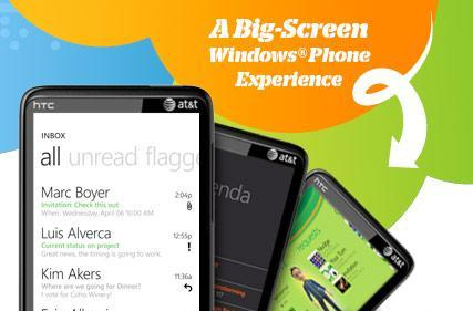 AT&T launches HTC HD7S with WP7 and LG's 3D-enabled Thrill 4G Android phone