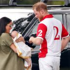 Baby Archie arrives in South Africa alongside parents Meghan Markle and Prince Harry