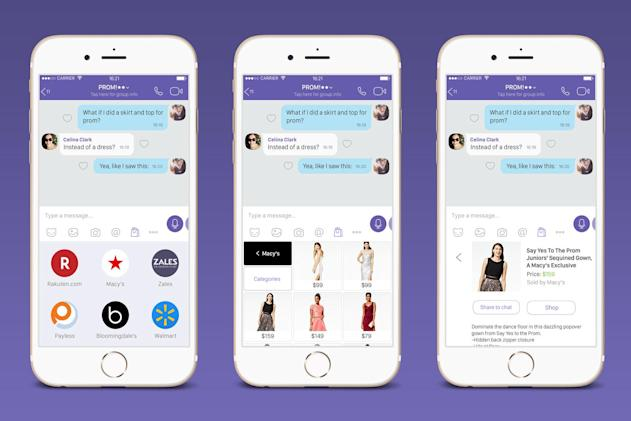 Chat app Viber hopes you'll shop from its keyboard