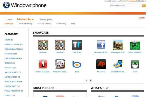 Windows Marketplace for Mobile updates tackle piracy, adds online store for non-mobile browsers