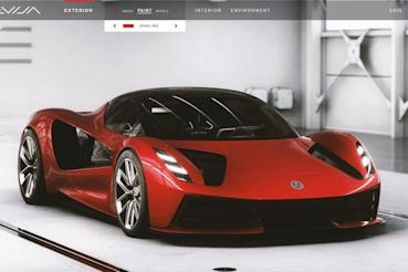 Lotus推出Evija銷售用配置軟體