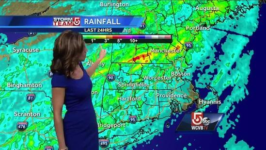 Cindy Fitzgibbon's Boston area weather forecast