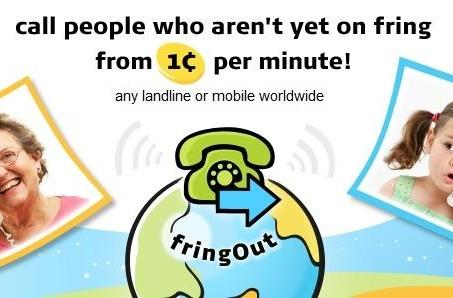 Fring reveals FringOut for cheap VoIP calls, challenges Skype head-on