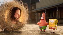 Nadie esperaba el cameo de Keanu Reeves en el tráiler de Bob Esponja