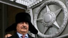 Russia turns to Libya with show of support for eastern commander